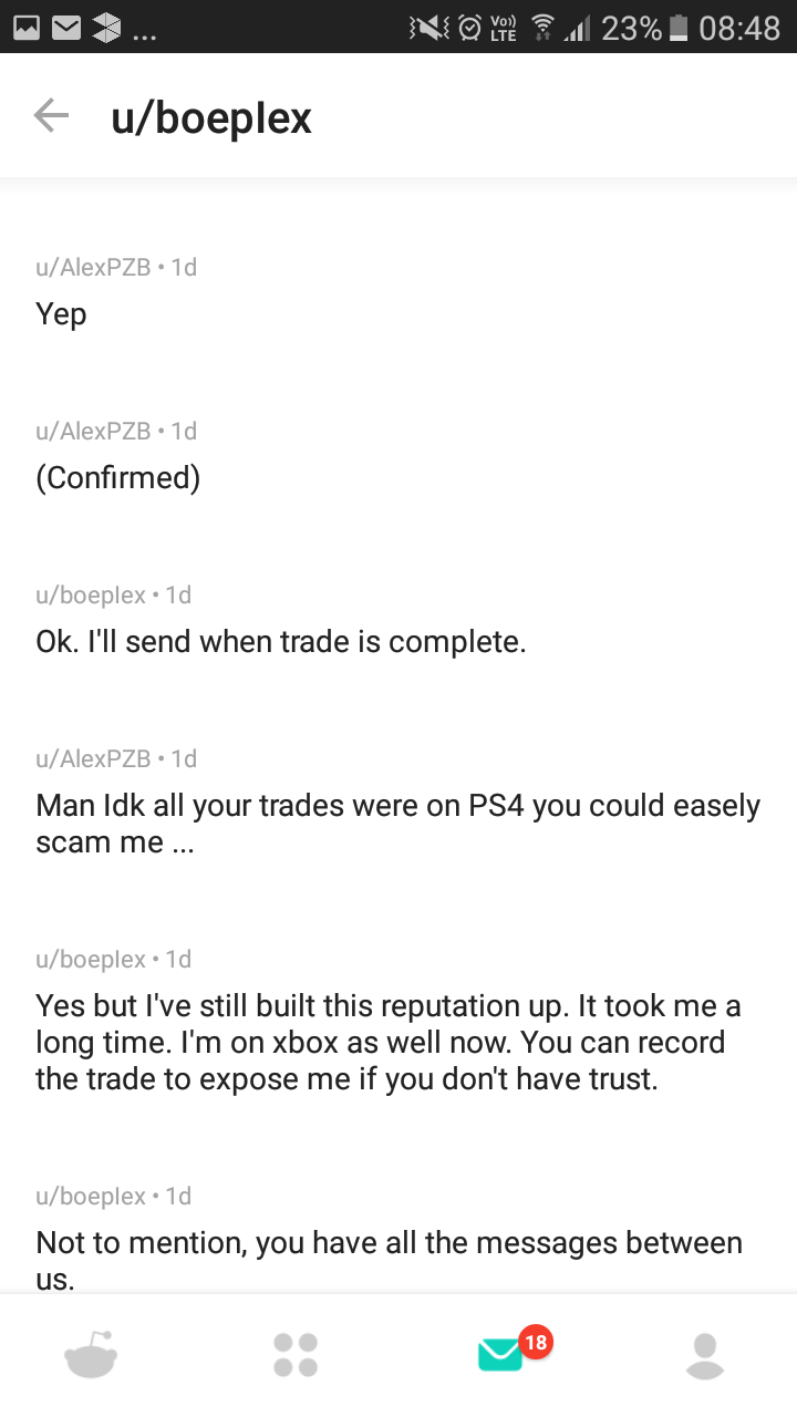 rocket league exchange